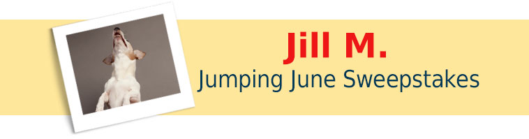 Dog.com's Jumping June Sweepstakes Winner