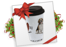 Ceramic Travel Breed Mug!